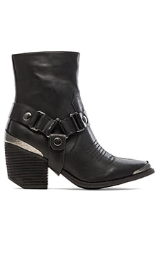 Jeffrey Campbell Rockwell Bootie in Black
