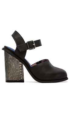 Jeffrey Campbell Bonshe Heel in Black Wash