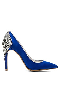 Jeffrey Campbell x REVOLVE Dulce Embellished Heel in Blue Satin