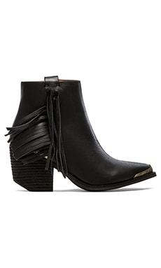 Jeffrey Campbell Pascal Bootie in Black & Bronze