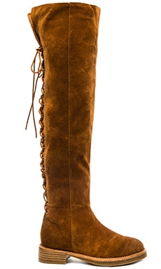 Jeffrey Campbell x REVOLVE Bireli Boot in Tan Suede