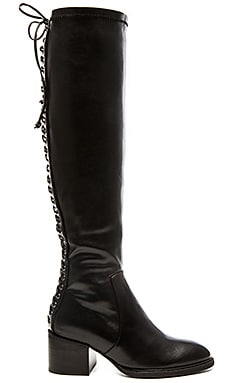 Jeffrey Campbell x REVOLVE Lucila Over the Knee Boot in Black