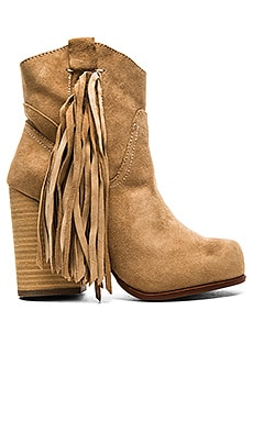 Jeffrey Campbell Bronco Bootie in Natural Suede