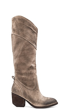 Jeffrey Campbell Gleeson Boot in Taupe Suede