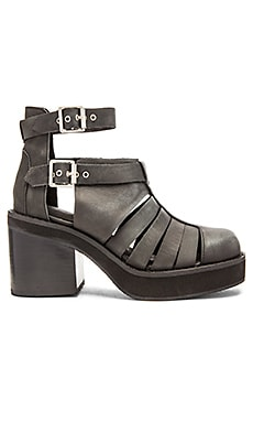Jeffrey Campbell Slough Bootie in Black Wash