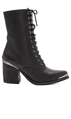 Boothe Mt Booties in Black