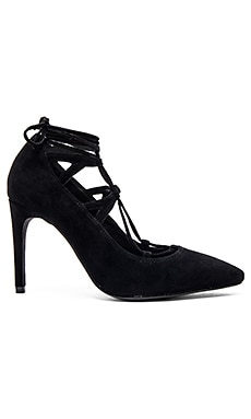 Jeffrey Campbell Brielle Hi Heels in Black Suede