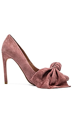Jeffrey Campbell Grandame Heels in Rose Suede