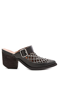 Jeffrey Campbell Route 66 Slides in Black