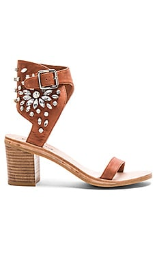 Jeffrey Campbell Iowa Sandals in Tan Clear