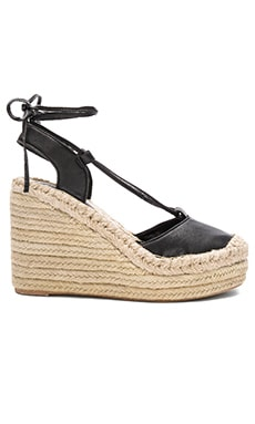 Jeffrey Campbell Rizzoli Wedge in Black