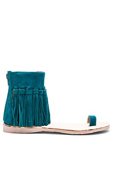 Borla Sandal in Blue Suede
