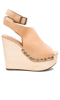 Jeffrey Campbell Nueva Wedge in Nude