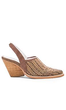 Utah Sling Sandal in Khaki Woven