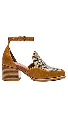 Walden Sandals en Tan Herringbone