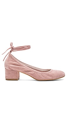 Bitsie Rev Heels in Rose Suede