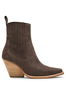 Jeffrey Campbell Mayer Booties in Grey Nubuck