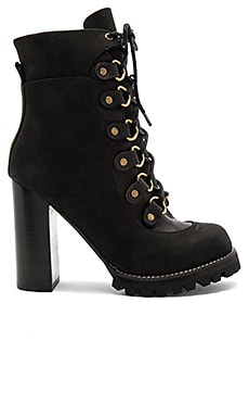 x REVOLVE Landra Rev Booties in Black Nubuck