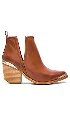 Cromwell Booties in Cognac