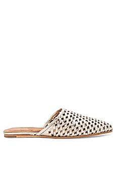 Doshi Slides in Gold Woven