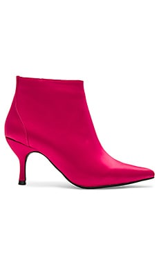 Twirl 2 Booties in Fuchsia Satin