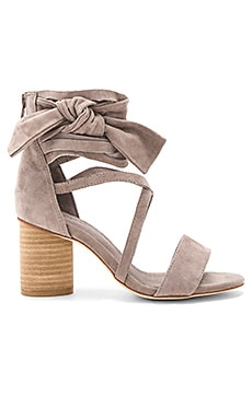 Destini Sandals in Taupe Suede