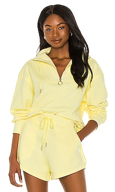 Zella Organic Terry Sweatshirt JONATHAN SIMKHAI STANDARD $185 NEW