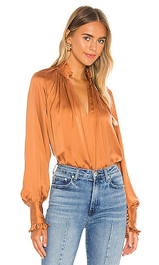 Ruched Front Top JONATHAN SIMKHAI STANDARD $245 Collections