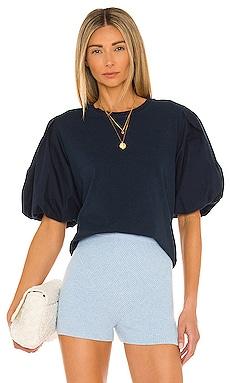 Denise Organic Cotton Jersey Top JONATHAN SIMKHAI STANDARD $165