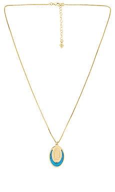 The Blanc Circle Pendant Necklace Joy Dravecky Jewelry $35