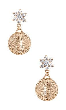 Helper Coin Earrings Joy Dravecky Jewelry $20 (FINAL SALE)