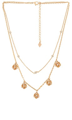 Double Layer Rose Shaker Necklace Joy Dravecky Jewelry $55 (FINAL SALE)
