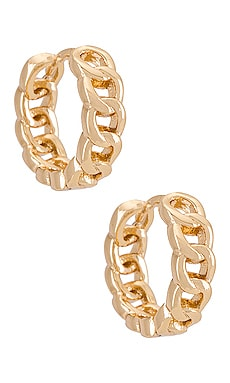 Chainlink Mini Hoop Joy Dravecky Jewelry $55 BEST SELLER