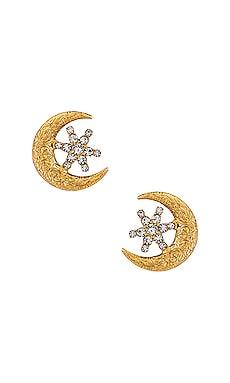 Callisto Stud Earrings Jennifer Behr $148