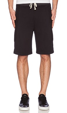 John Elliott + Co Hoya Short in Black
