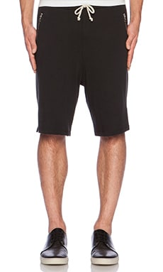 John Elliott + Co Court Short in Black