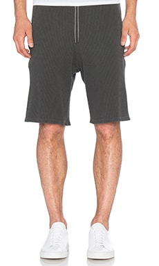 Flatback Thermal Shorts in Washed Black