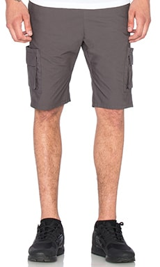 JOHN ELLIOTT Cargo Short in Charcoal
