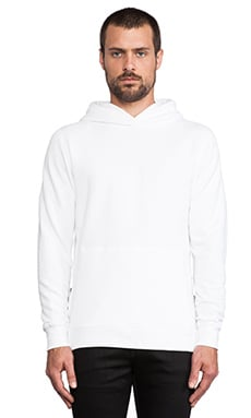 John Elliott + Co Hooded Villain in White
