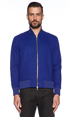John Elliott + Co Teddy Jacket in Blue