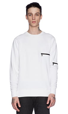 John Elliott + Co Clash Crew in White