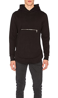 John Elliott + Co Rue Hoodie in Black