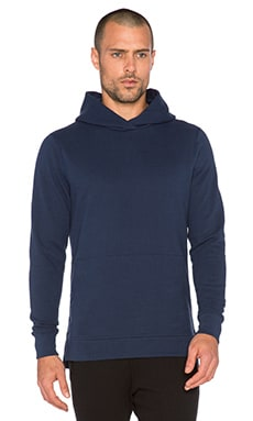 John Elliott + Co Hooded Villain in Midnight Blue