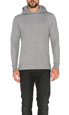 John Elliott + Co Hooded Villain in Dark Grey