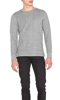 John Elliott + Co Villain Crew in Dark Grey