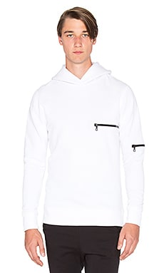 John Elliott + Co Hooded Clash in White