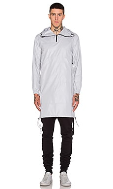 John Elliott + Co Pullover Raincoat in Plaster