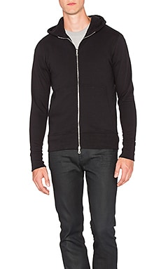 JOHN ELLIOTT Flash Dual Full Zip in Black