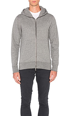 JOHN ELLIOTT Flash Dual Full Zip in Dark Grey