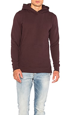 JOHN ELLIOTT Hooded Villian in Maroon